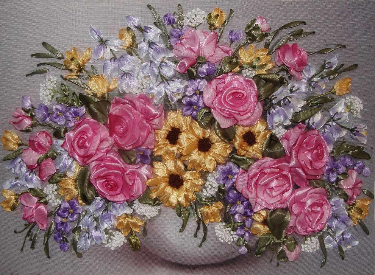 042-100 Розы и колокольчики (РЛ)