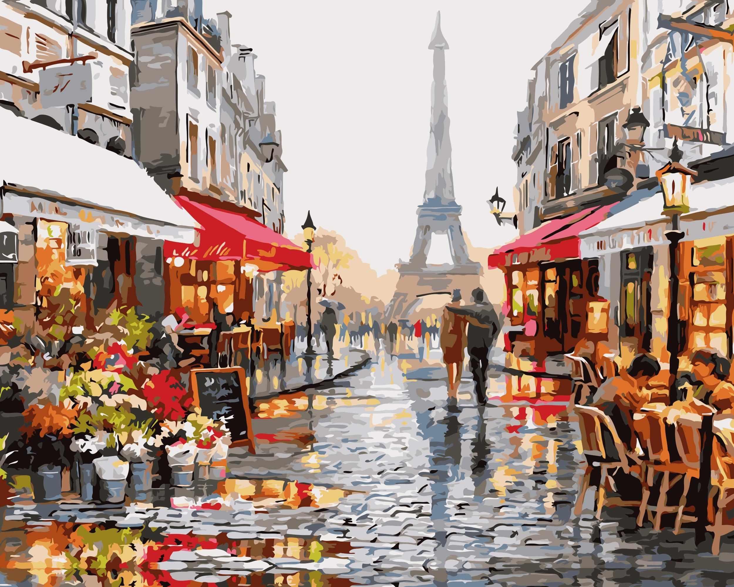 C010 Вечер в Париже