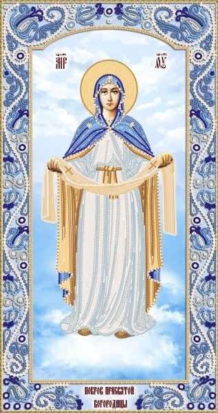 РИК-2-005 Покров Пресвятой Богородицы - схема для вышивания (Марiчка)