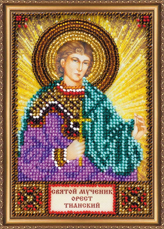 ААМ-132 Набор для вышивки бисером Святой Орест