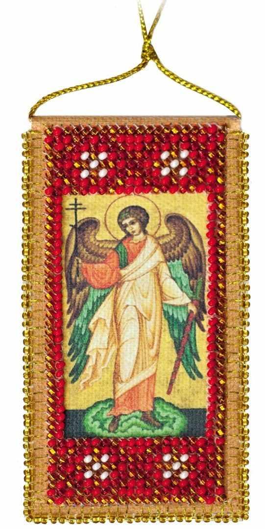 """АВО-001 Набор для вышивки бисером """"Молитва Ангелу-хранителю"""""""