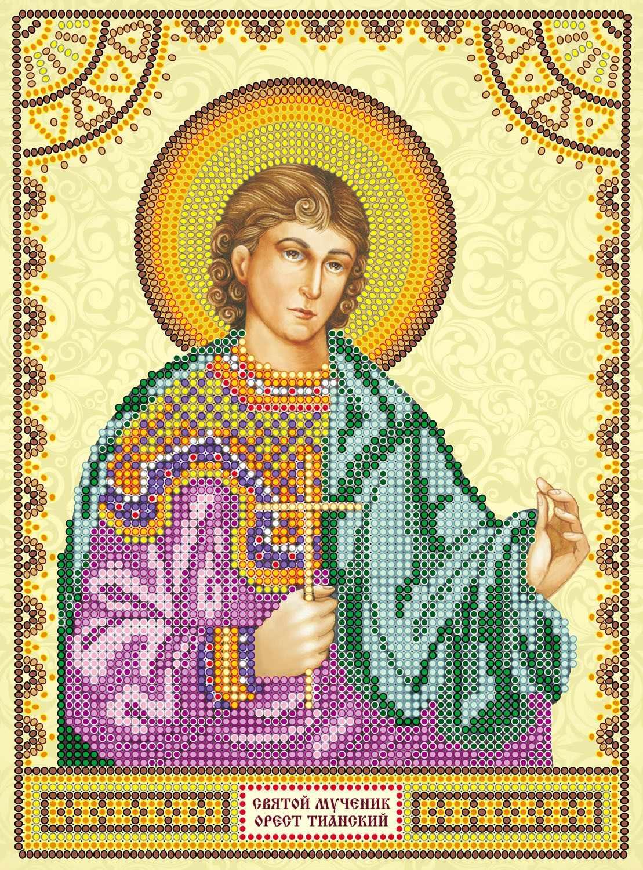 АСК-132 Святой Орест - схема для вышивания (Абрис Арт)