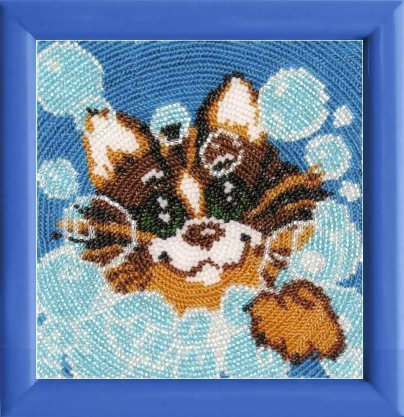 968 Мыльные пузыри - схема для вышивания (Butterfly)