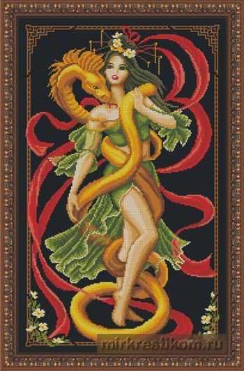 """4003 Набор """"Принцесса и золотой змей"""""""