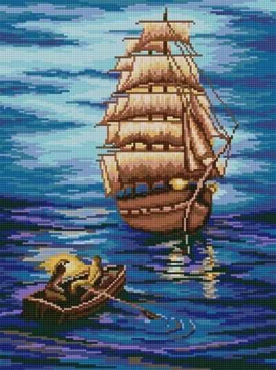 50085 Летучий голандец - мозаика Anya