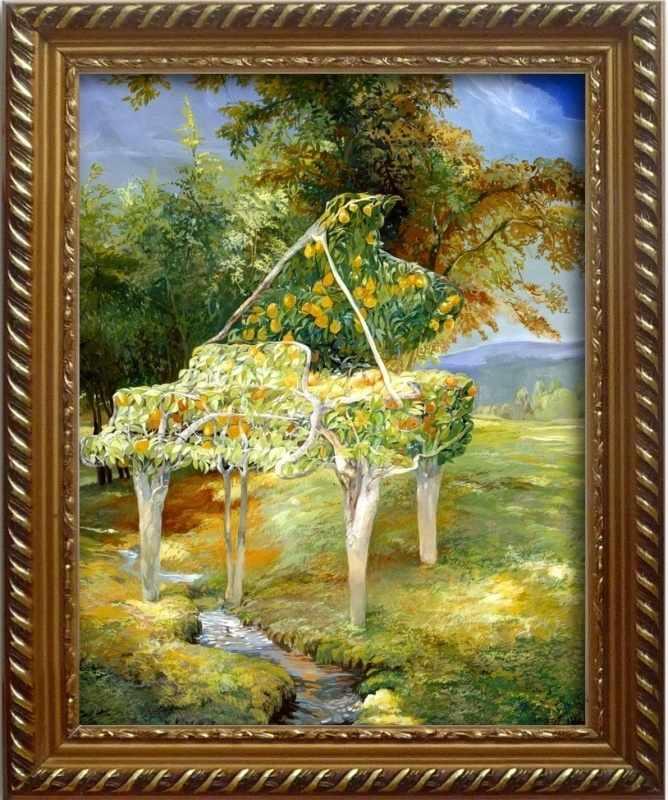 304002 Апельсиновый рояль