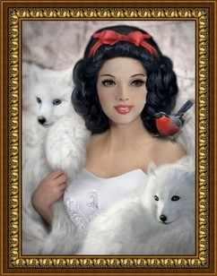 G-081 Белоснежка и белые волки