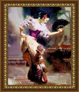 G-105 Испанский танец