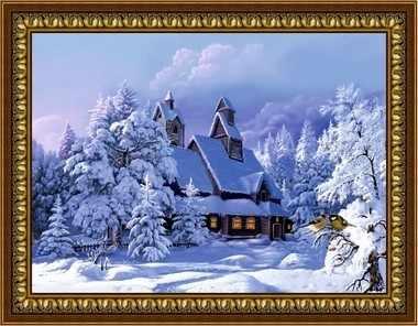 G-099 Зимний пейзаж