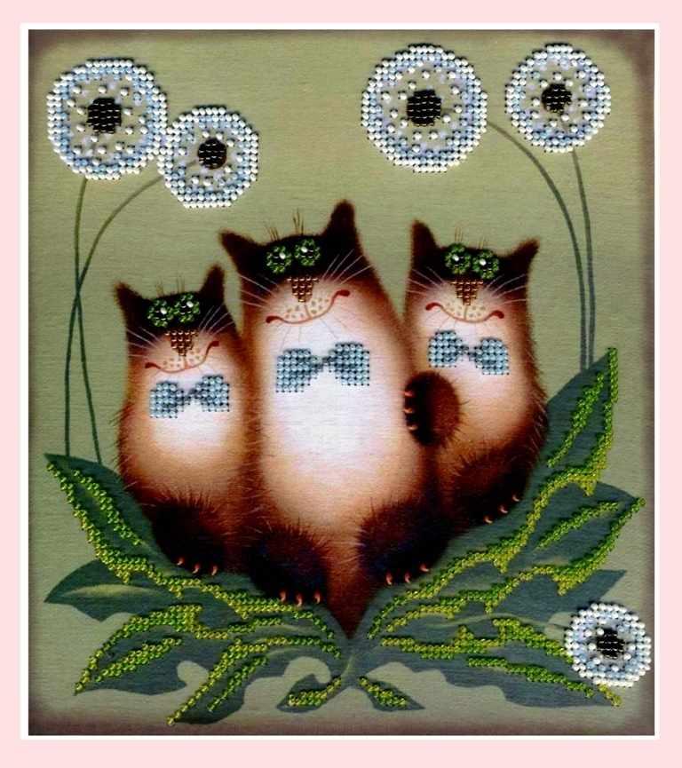 НР-028 Трио котов