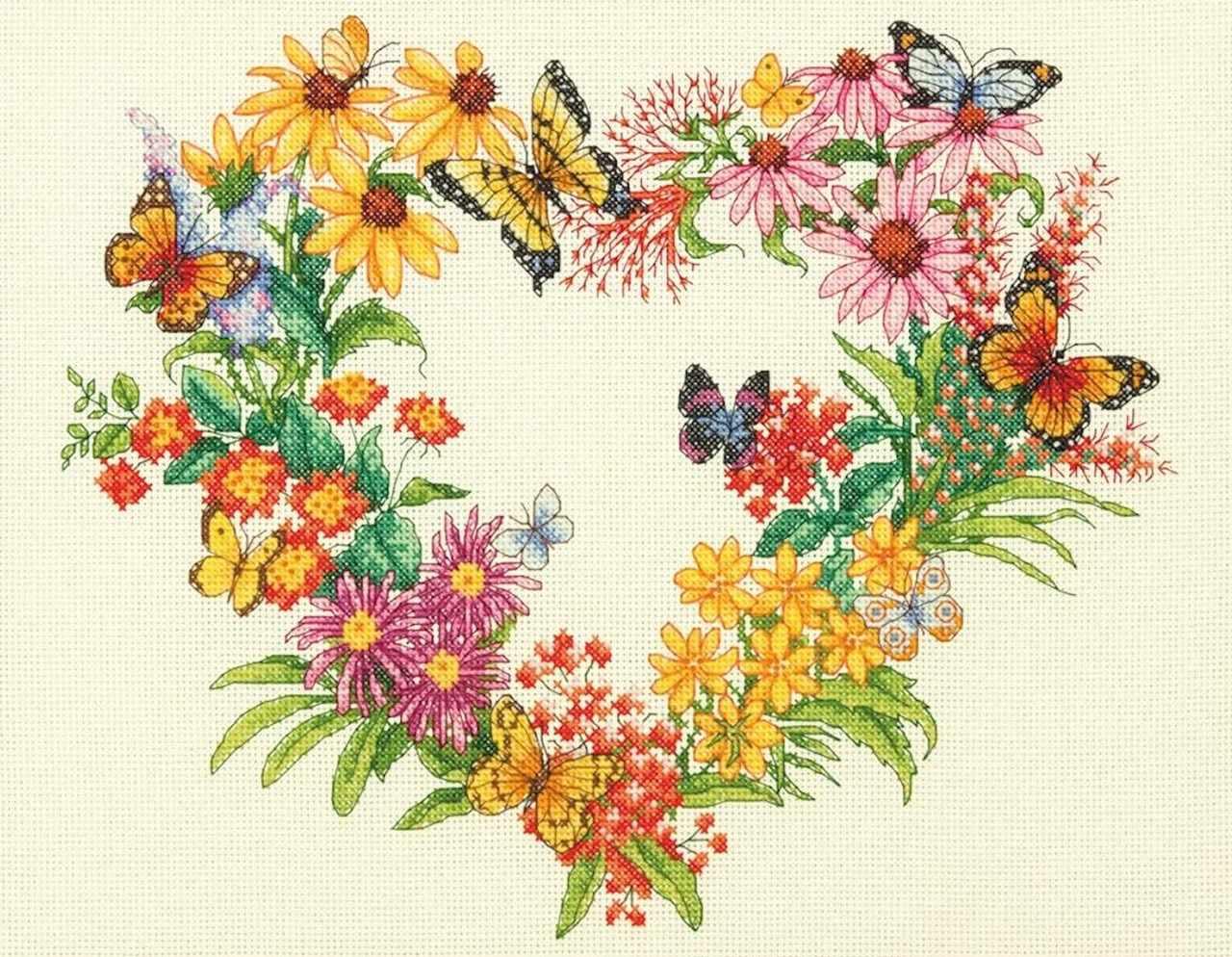 35336-70-DMS Венок из диких цветов