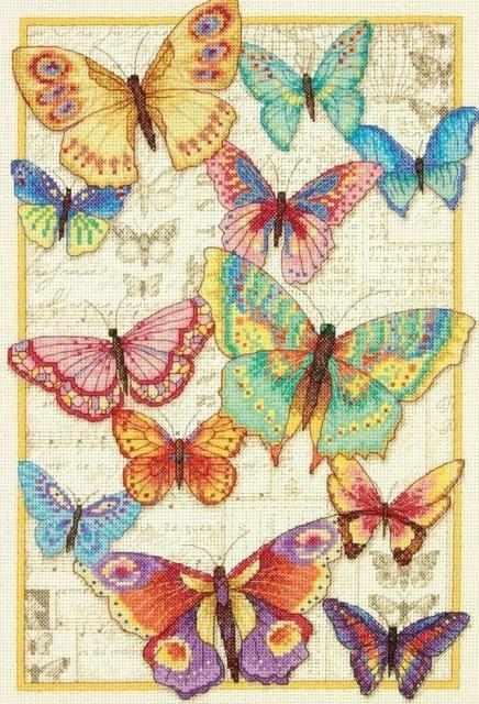 35338-70-DMS Красота бабочек