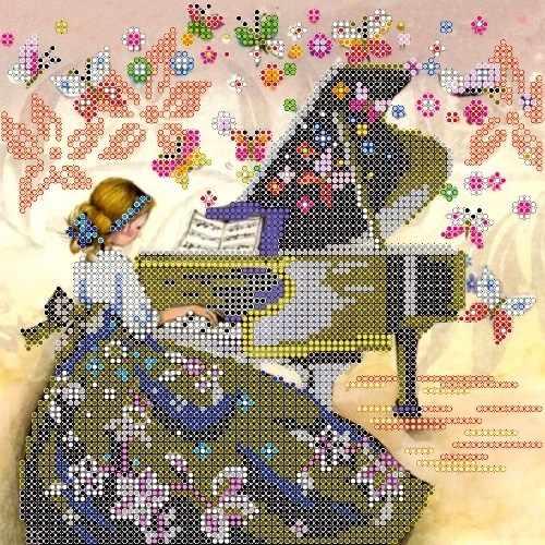 АС-494 Визит музы - схема для вышивания (Абрис Арт)