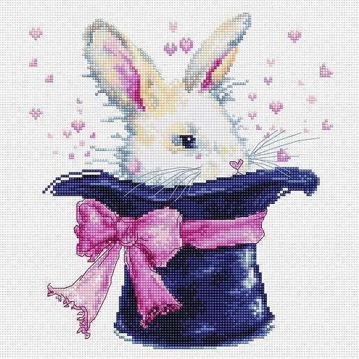B2302 Кролик в шляпе