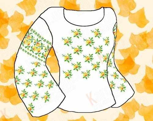 КБФ-02 Заготовка для сорочки (Каролинка)