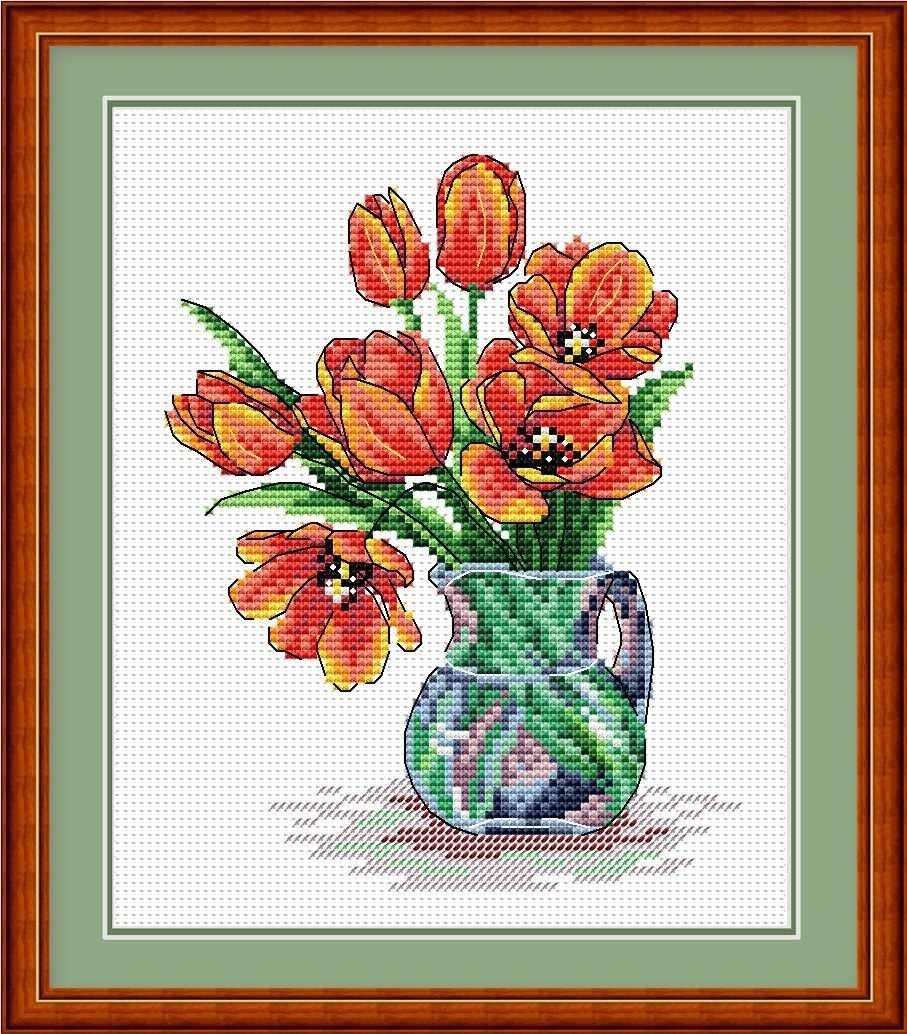 М-089 Весенние тюльпаны
