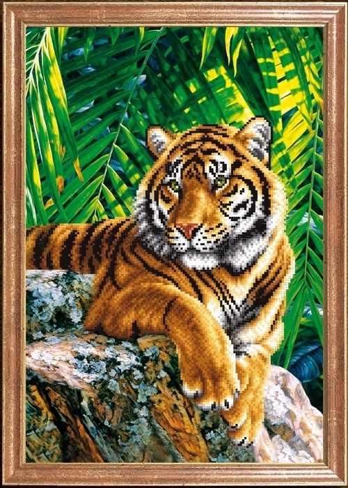 КС-087 Тигр отец - схема для вышивания (Магия канвы)