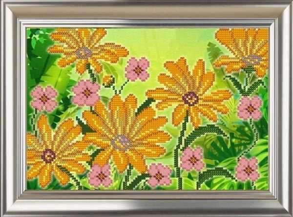 ДС-572 Цветики - схема для вышивания (Велисса)