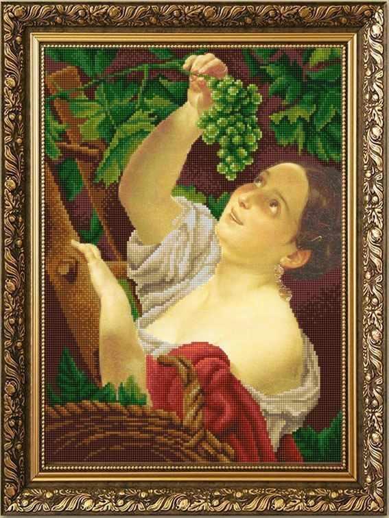 НИК 9888 Итальянский полдень  - схема для вышивания (Конёк)