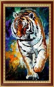 120  Яркие краски. Тигр