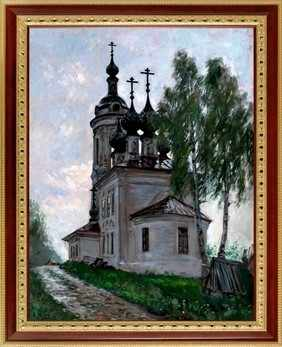 139  Церковь на пригорке