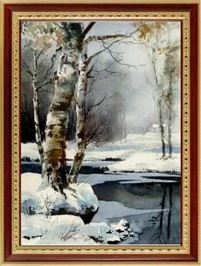 130  Зимняя речка