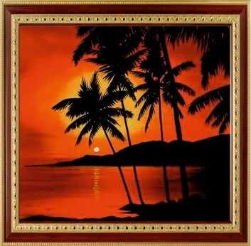 116  Тропический закат