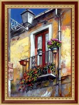 161  Цветущий балкончик