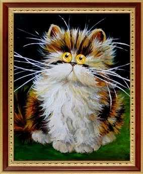 043  Забавный кот