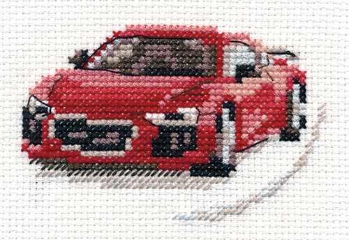 0-157 Красный спорткар