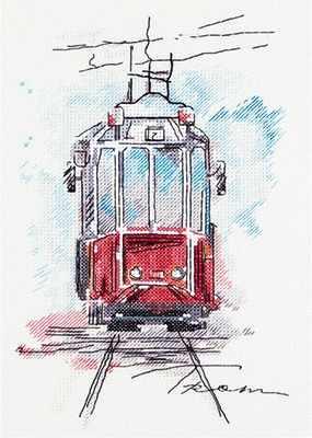 """GM-1923 """"Городской трамвай"""""""