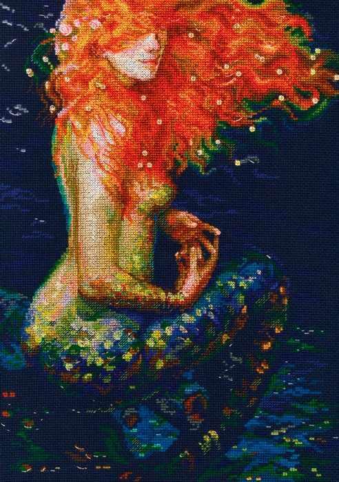 M596 Рыжая русалка