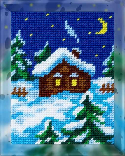 X2257 Зимняя ночь