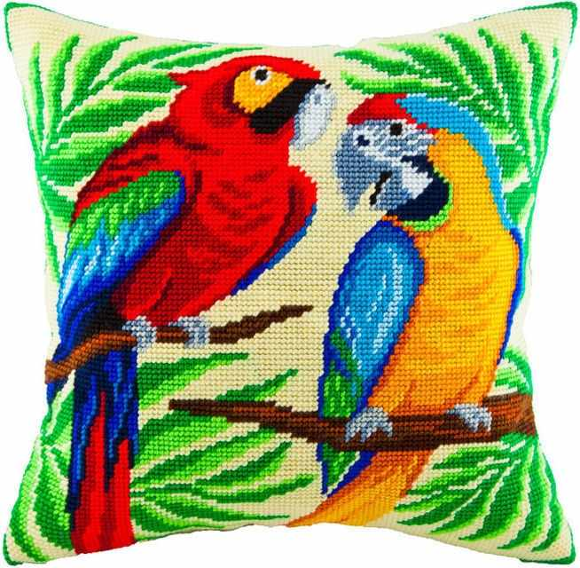 V55 Пара попугаев