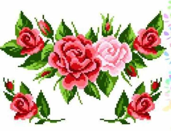 K294 Розовый букет