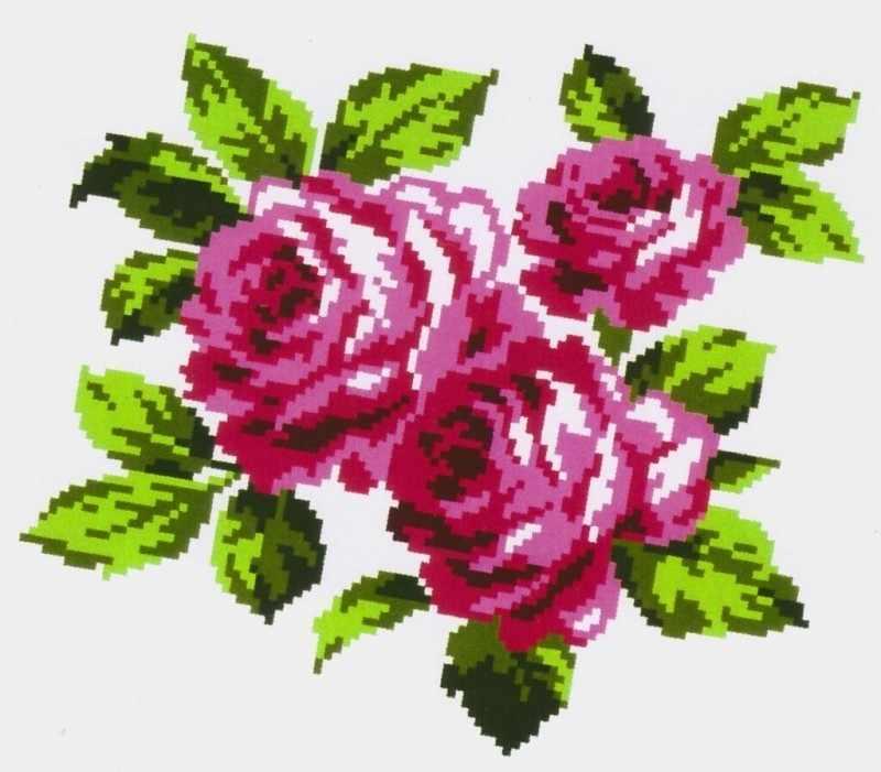K301 Букет роз
