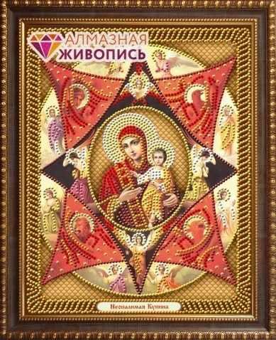 Алмазная вышивка Неопалимая Купина (АЖ-5048) - картина стразами