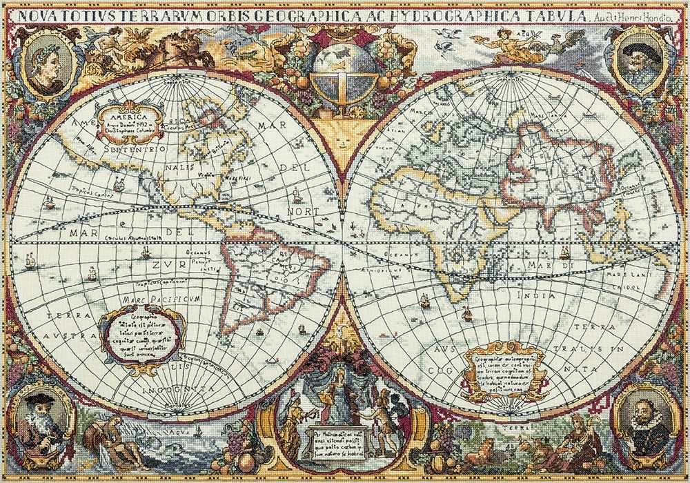 """ПЗ-1842 """"Географическая карта мира"""""""