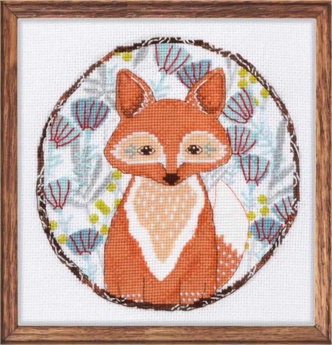 Лисичка Картинки Набор для вышивания «Овен» 957 Лисичка купить в интернет-магазине