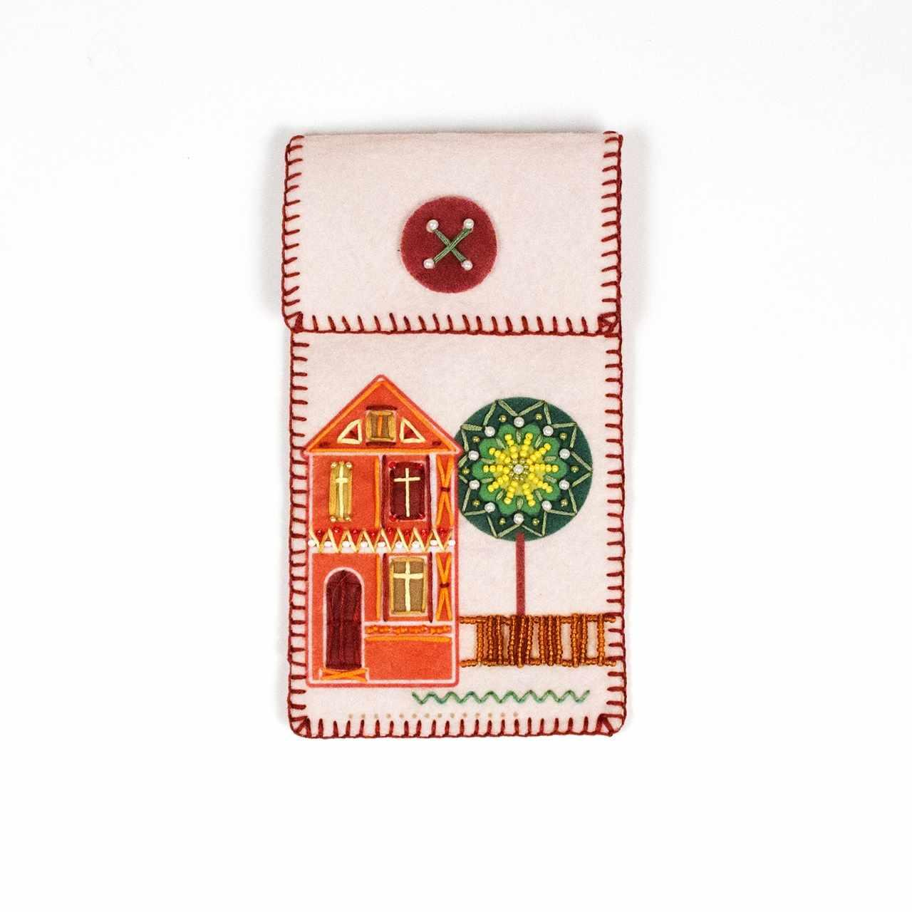 """8370 Чехол для телефона """"Домик мечты"""" - набор для вышивания (МП)"""