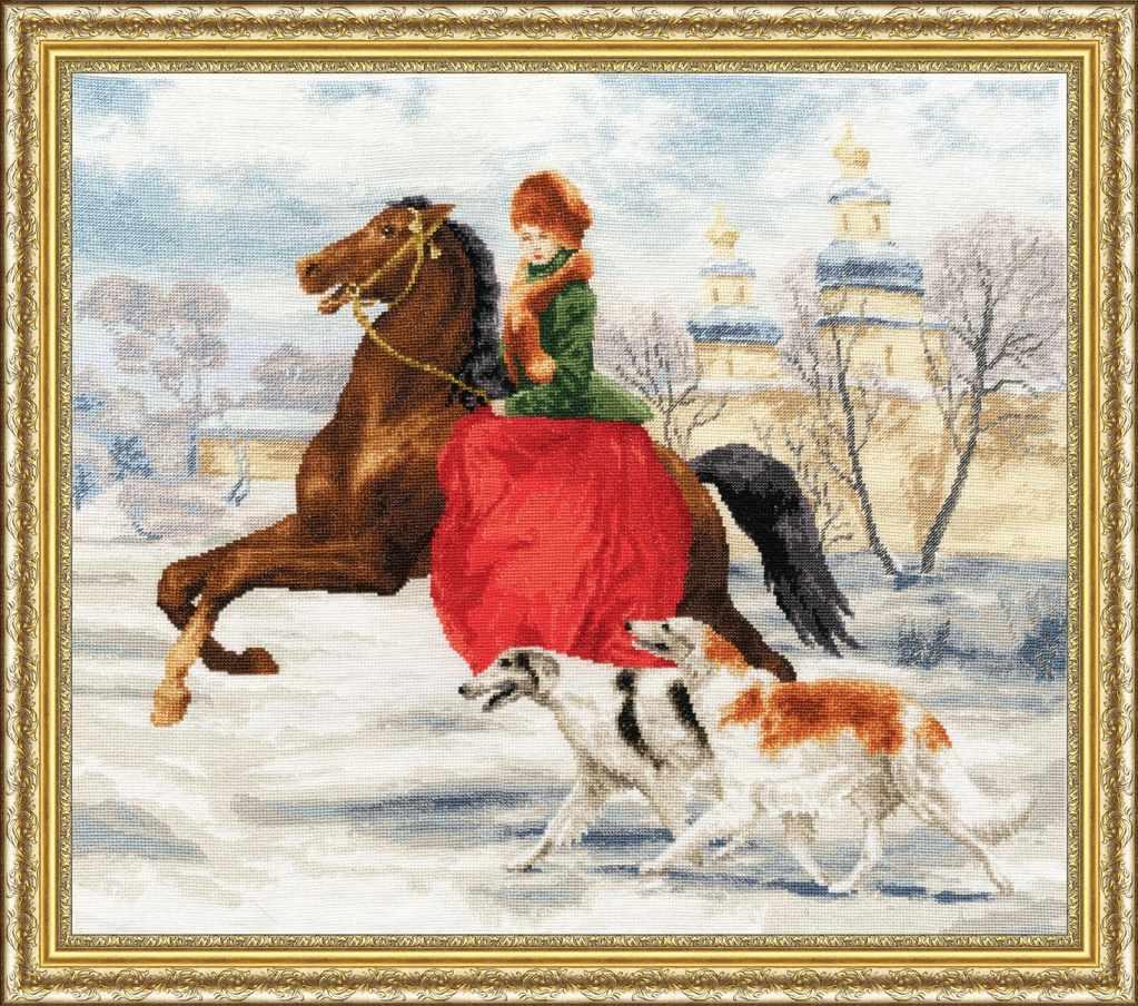 ЧМ-052 Зимняя прогулка