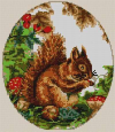 50168 Белочка - мозаика Anya
