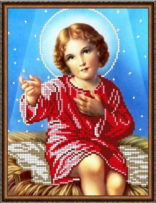 Б-4292 - Маленький Иисус - схема для вышивания (Алёшкина любовь)