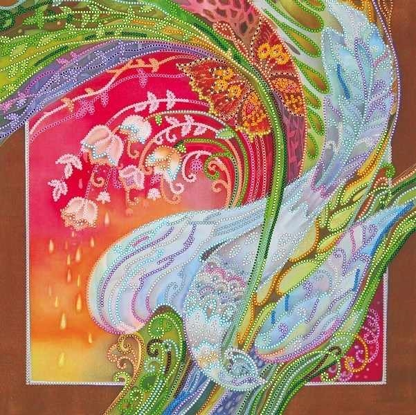 """АС-303 """"Райская птица"""" - схема для вышивания (Абрис Арт)"""