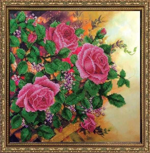 КВ523 Вьющиеся розы- набор
