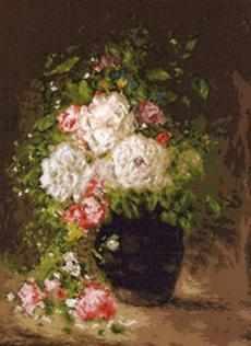 1035 Ваза с цветами