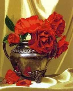 1038 Ваза с розами