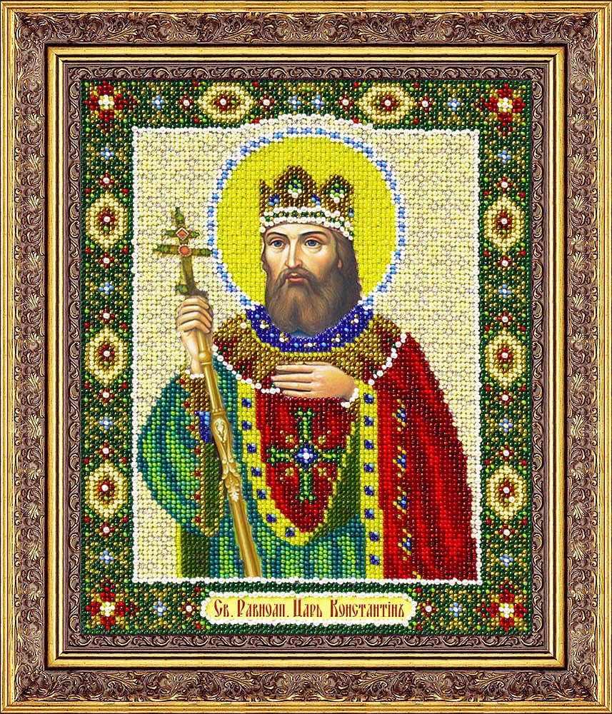 Б1083 Св. Равноап.царь Константин  (Паутинка)