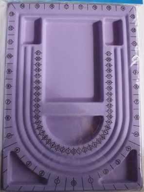 CF126.LIL Лоток для работы с бисером, фиолетовый