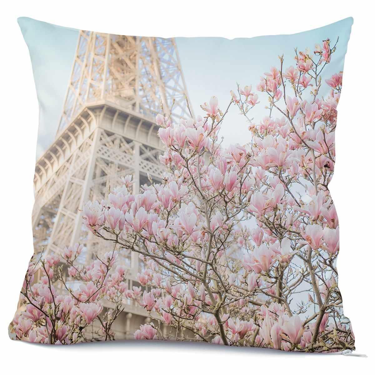 9156ш Париж в цвету - наволочка (МП)